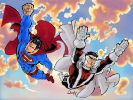 Comiczone: Superman Majestros by mistermoster