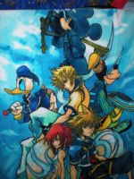 Kingdom Hearts Blanket by Catherinex13