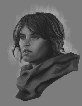 Rogue One  Star Wars quick sketch fan art by BrianFajardo