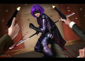 HIT-GIRL Attacks by Sheridan-J