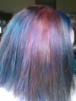 Multicolored Hair by ArtsyLibrarian