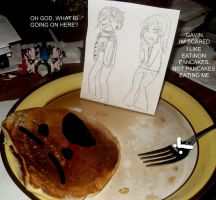 PANCAKE PARTY GONE WRONG by Divided-by-zer0
