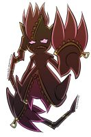 Mega Banette by JohnnyAlex