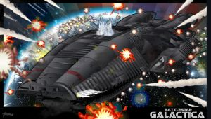 Galactica Over Caprica 2 by stourangeau