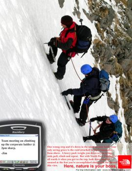 North Face Touring Ice Climb by kaiserinkat