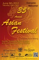 2012 Utah Asian Festival Poster by mystaya171