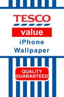 Tesco Value iPhone Wallpaper by The-Cosmic-Pope