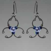 Biohazard Blue II- SOLD by YouniquelyChic