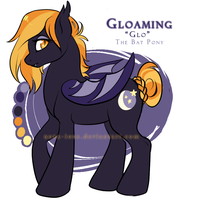 Gloaming the Batpony by Noxx-ious