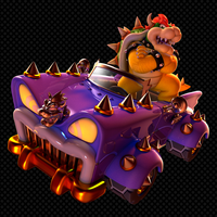 Bowser's Car Wallpaper Super Mario 3D World by DryBowzillaJP