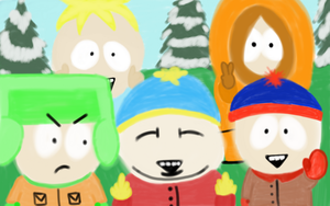 Greetings from South Park by Megalomaniacaly