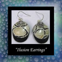 Handmade Ilusion Earrings by KabiDesigns