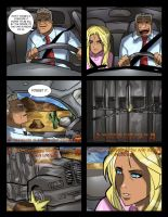 Third page of the comic killed by a fridge. by Gerardogarciaro