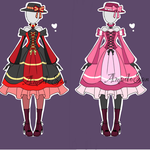 Victorian Outfits Adoptable CLOSED by AS-Adoptables