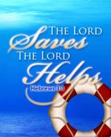 The Lord Saves The Lord Helps by cgitech