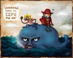 Three Gentlemen at Sea by a-iccara
