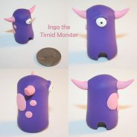 Inga the Timid Monster by TimidMonsters