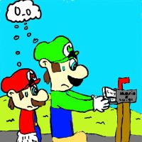 Messege for Mario and Luigi by FuryX-4