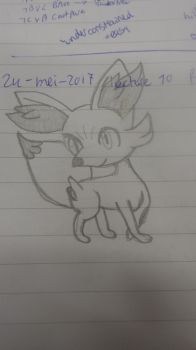 Fennekin copy by kmd27
