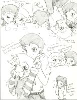 iCarly Doodles 17 by Kurofaikitty