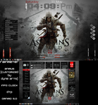 Assassin's Creed III Desktop (Rainmeter DL Links) by xR4nD0mx3m0x