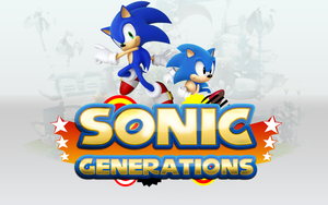 Sonic Generations Wallpaper by darkfailure