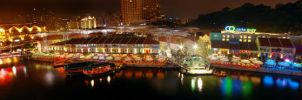 Clarke Quay Panoramic by josgoh