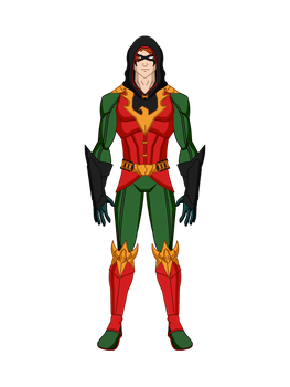 Flamebird, cor alternativa by All10