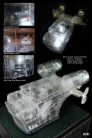 Clear Acrylic Bertha by DMStrecker