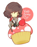 Lexi and Cupcake .:Happy Birthday:. by GYRHS