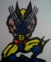 Wolverine Claws Drawn by dark-es-will