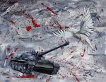The War On Doves by Abuttonpress2Nothing