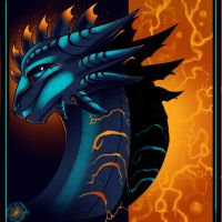 Blue Scale Embers by InspiredDragons