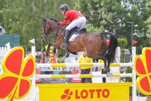 3DE Show Jumping Phase Stock 132 by LuDa-Stock