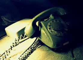 old phone found in the attic by Shreever