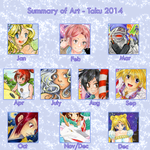 2014 Summary of Art by Takuichi