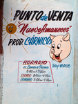Butcher Shop Sign in Holguin, Cuba, 2014 by vanfoto