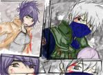 Kakashi and Anko Scrap01 2014 by KickBass77