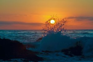 Cali Sun - Rockaway Beach by DigitalCoyote