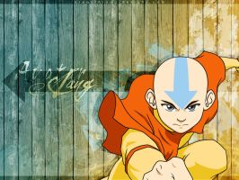 Avatar Aang by BreakthroughDesigns