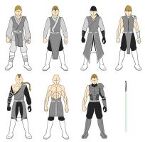 Male outfit set 1 Jedi by cross-bonez