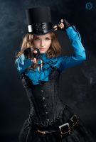 Steampunk victorian girl by LahmatTea