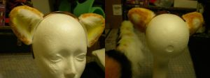 Asterisk Reiza candy corn ears by xiamara13