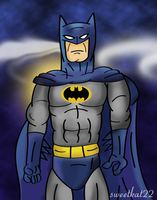 Batman in the dark by sweetkat22