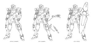 Request: Gundam Chronos by Rekkou