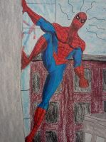 Ok..Where is He??? - detail of Spiderman by dhbraley