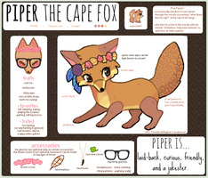 Piper Ref v.2 by foxtribe