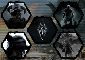 The Elder Scrolls V: Skyrim by WE4PONX