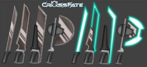 Cross Fate: Melee Weapons 2 by DKDevil