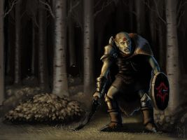Orc of Mordor by Ekonk